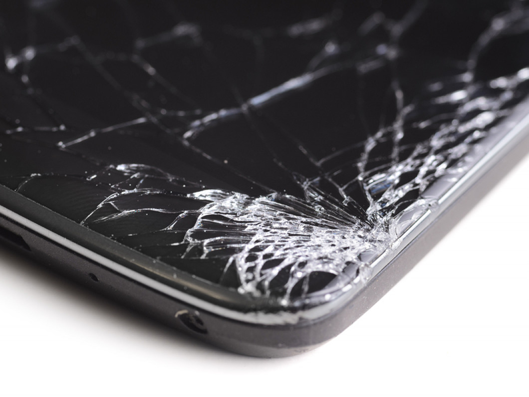 Cracked screen or is your digitizer failing?
